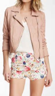 cute ideas featuring a pink leather jacket