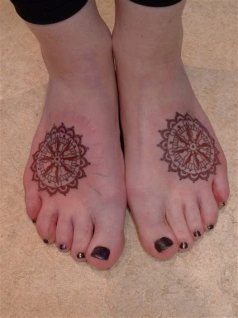 elegant foot tattoo designs wheel tattoos page 2