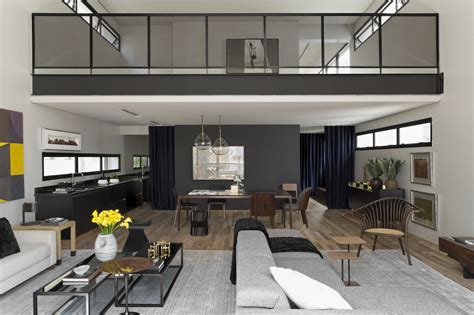 moderne innenarchitektur modern industrial interior design in beautiful open