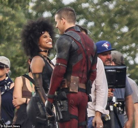 fotos de domino en el set de deadpool 2 sandiegored com