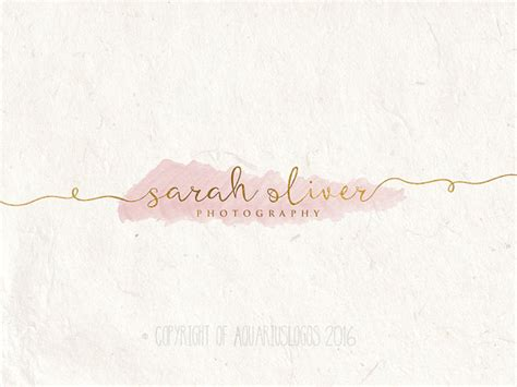 watermark templates for photoshop photography logo design watercolor logo diy psd photoshop