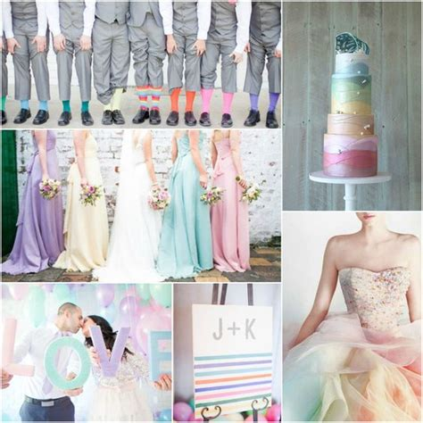 these wedding color themes are stunning unique