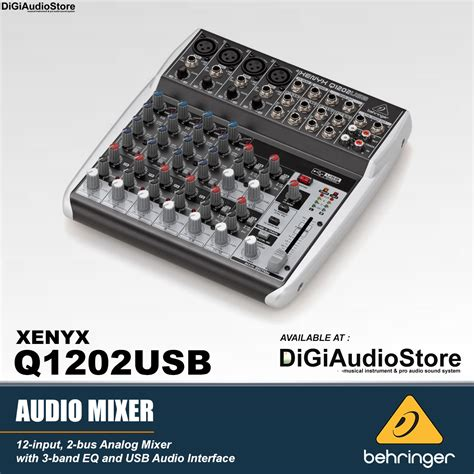 Mixer Behringer Baru jual mixer behringer q1202usb q 1202 usb with