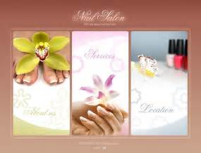 nail salon flash template 25395