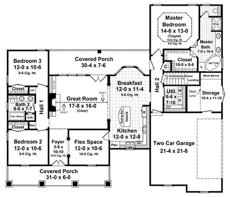 house plans monster country style house plans 1800 square foot home 1