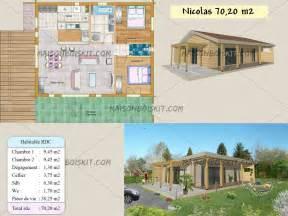 Farmhouse Floorplans by Plan Gratuit De Maison En Bois En Kit