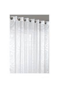 rideau voilage grande largeur contemporain blanc