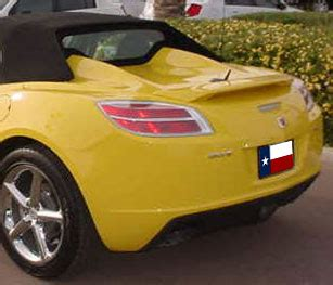 Top Yellow Sy saturn sky 2 post factory style spoiler 2006 2010