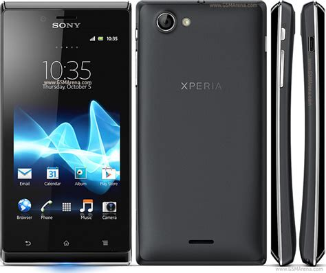 Hp Sony J1 sony xperia j pictures official photos