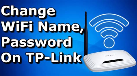 how to reset tp link wifi change wifi name ssid and password on tp link router