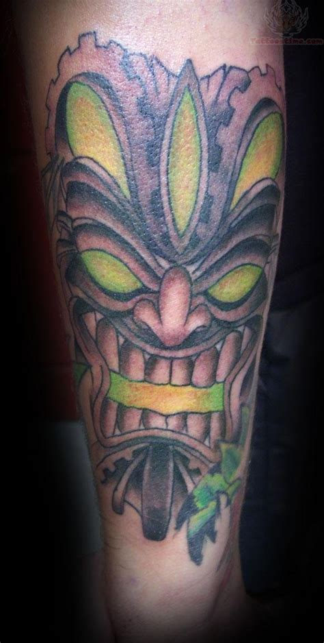 tiki tattoos tiki god tattoos