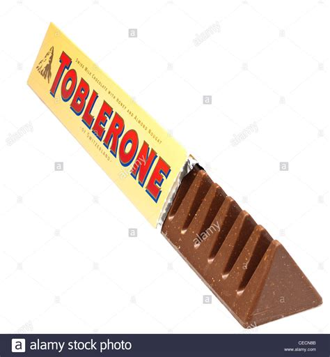Mylove Import Bangkok bar of toblerone milk stock photo royalty free image