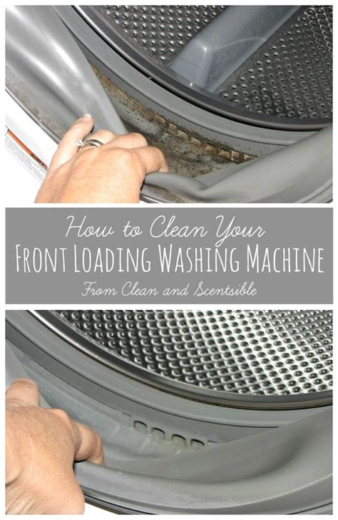 clean mold from front load washer cool creativity how to clean washing machine