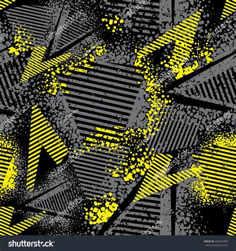 black yellow wallpaper vector abstract seamless pattern girls boys textured stock vector
