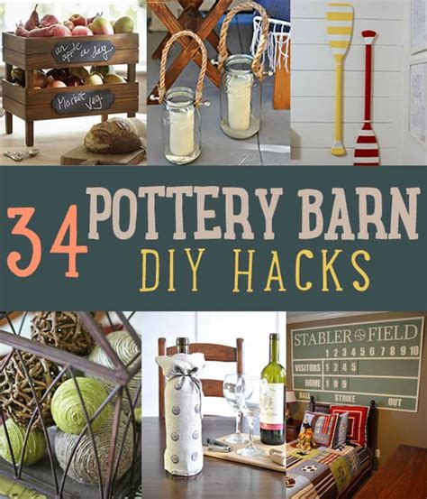 diy hacks 34 pottery barn hacks for design on a budget diy ready