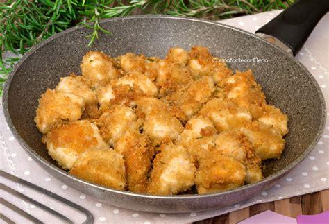 cucinare tacchino a pezzi bocconcini di pollo croccanti ricetta velocissima