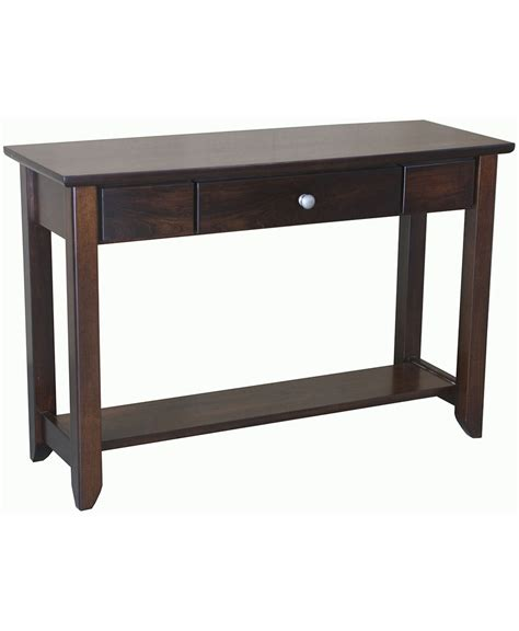 Amish Direct Furniture by Jaymont Sofa Table Amish Direct Furniture