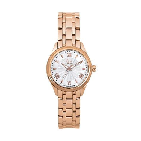 jual guess collection gc y03005l3 stainless jam tangan wanita gold harga