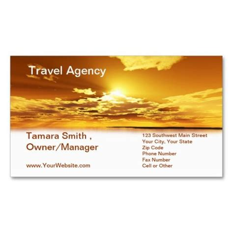 free business card templates for travel agency travel agency business card template this beautiful