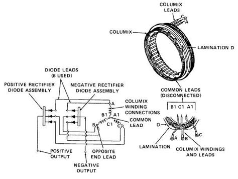 what is a alternator diode alternator cont tm 5 4320 302 14 355