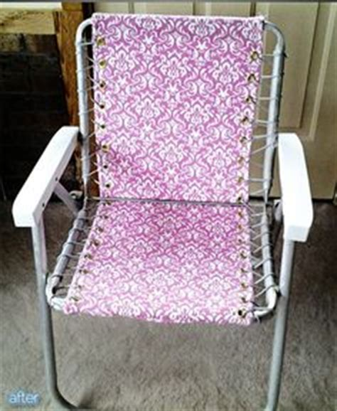 Patio Chair Webbing Material by 1000 Images About Lawn Chair Or Aluminum Patio Chairs On