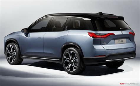 electric suv nio unveils new production electric suv for china