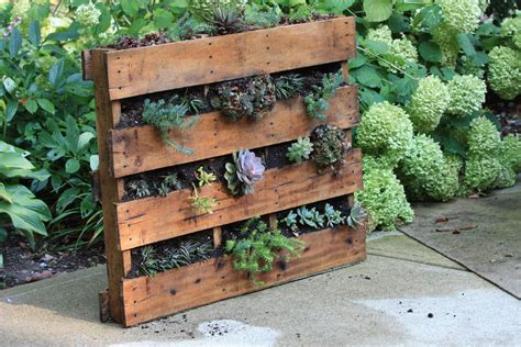 wooden pallet vertical garden recycled projects for the garden pennsylvania gardener