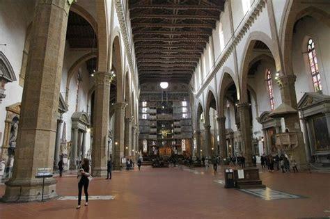 santa croce interno interno foto di basilica di santa croce firenze