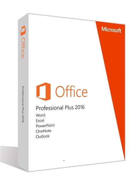 Microsoft Office Professional microsoft office professional plus 2016 product