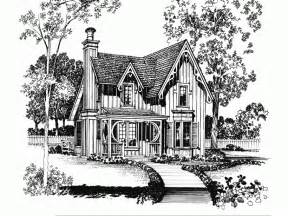 Gothic Revival House Plans gothic revival house plan with 1247 square feet and 2