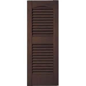 vinyl shutters home depot builders edge 12 in x 31 in louvered vinyl exterior