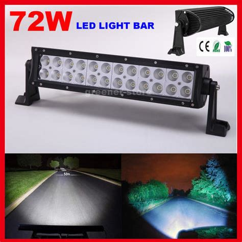 14 Inch Led Light Bar by Spot Fog Lights 14 Inch 72w Cree Led Light Bar Flood