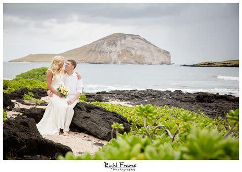 Hawaii Destination Wedding Makapuu Beach by RIGHT FRAME