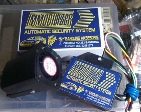 Alarm Motor Injection jual alarm motor injection sirine bandung variasi