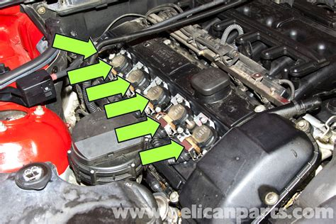 bmw z3 spark ignition wire and coil replacement