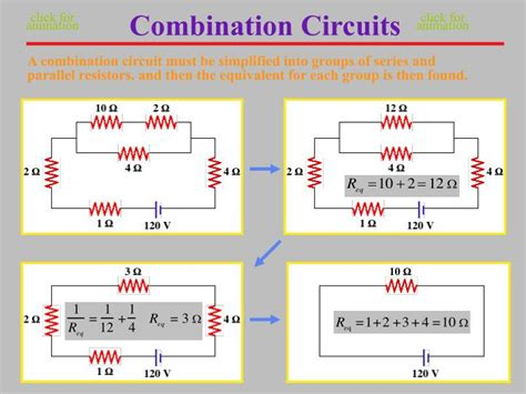 combination of resistors in series and parallel ppt ppt electrical circuits powerpoint presentation id 2024607