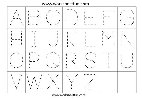 tracing uppercase letters capital letters 3 uppercase letter tracing worksheets free worksheets