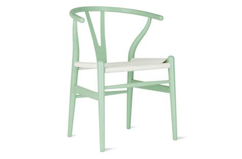 colored wegner wishbone chairs remodelista