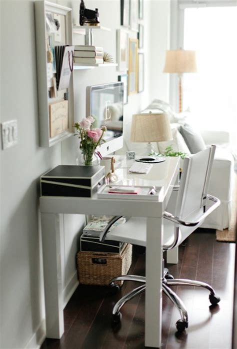 Small And White Home Office Room Ideas Small Home Office Desk Ideas