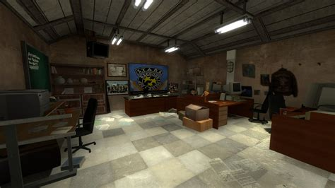 S T Office by S T A R S Office Image Resident Evil 2 Source Mod For