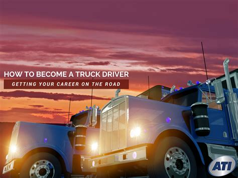 how to become a monster truck driver for monster jam how to become a truck driver getting your career on the road