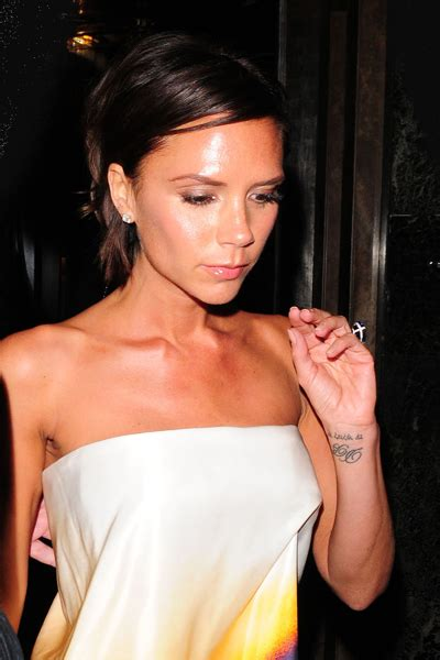 victoria beckham tattoo wrist 20 with tattoos page 8