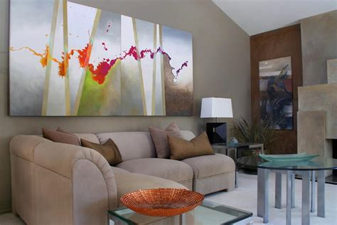 living room art paintings selecting abstract art for modern interiors modern art