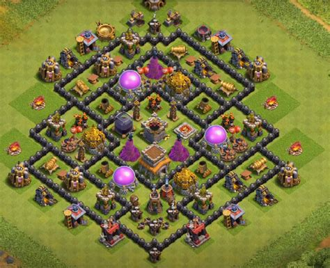 best th8 base 12 best th8 farming base 2018 new update anti everything