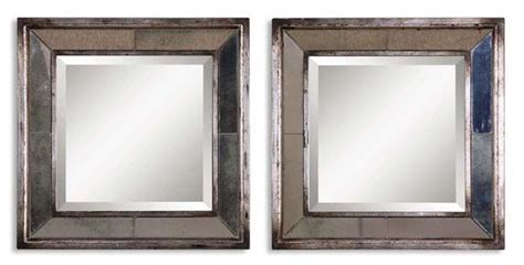 Uttermost Mirrors Dealers by Uttermost 13555 B Davion Squares S 2 Mirrors Shop