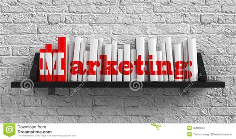 Marketing Education by Marketing Education Concept Stock Illustration