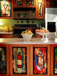 kitchen stencil ideas four simple ideas in decorating kitchen cabinets full home