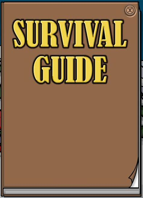 23 tips to survive a flight books image the survival guide book jpg club penguin wiki