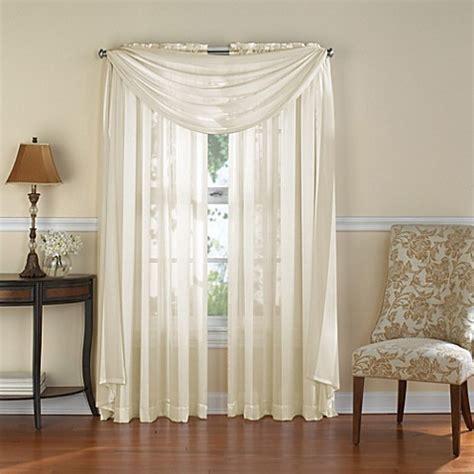 venetian curtains venetian stripe rod pocket sheer window curtain panel