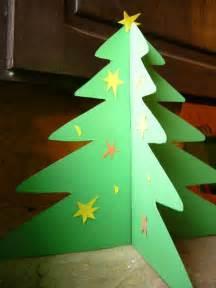 trajes de arboles echos en fomixs c 243 mo hacer un 225 rbol de navidad en 3d con cartulina